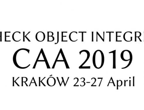 CAA 2019 Krakòw