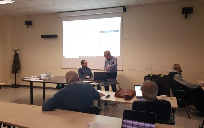 Attila Kreiter (HMN) and Julian Richards (UoY-ADS)discuss the Hungarian database of archaeological data