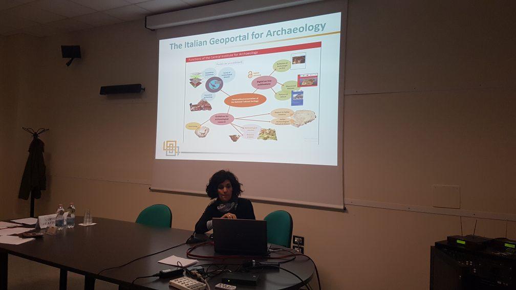Valeria Boi, ICA, Italian Geoportal for Archaeology