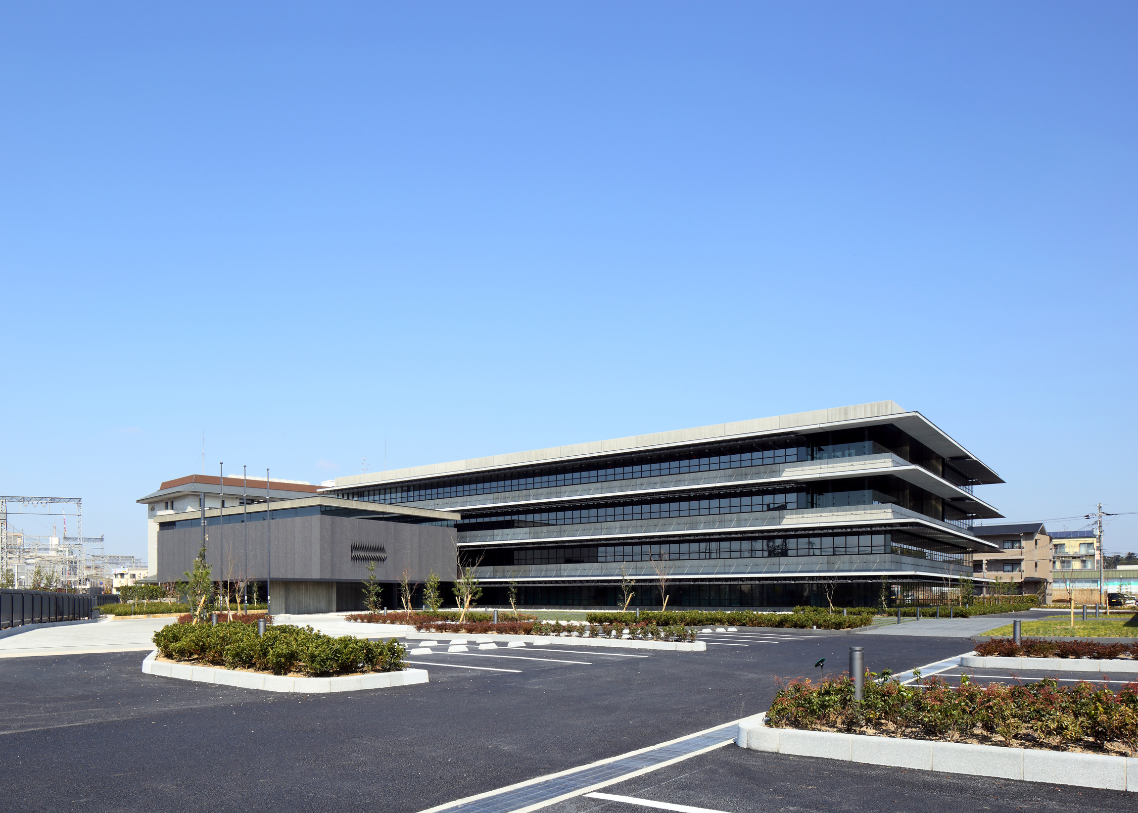 Exterior view of the Nara office building