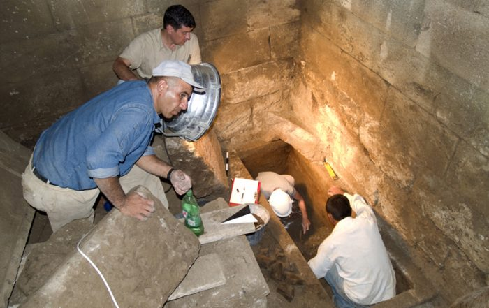 Excavation at Pergamon