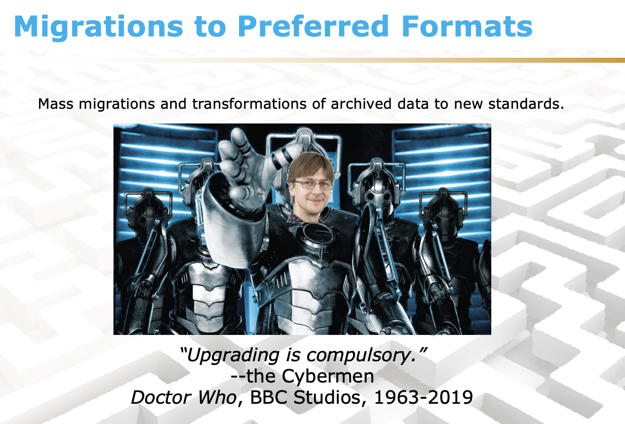 Preferred formats for FAIR data