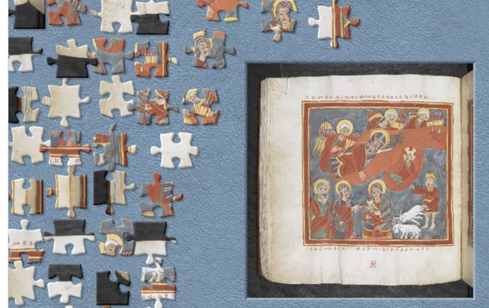 British Library Jigsaw challenge March 2020