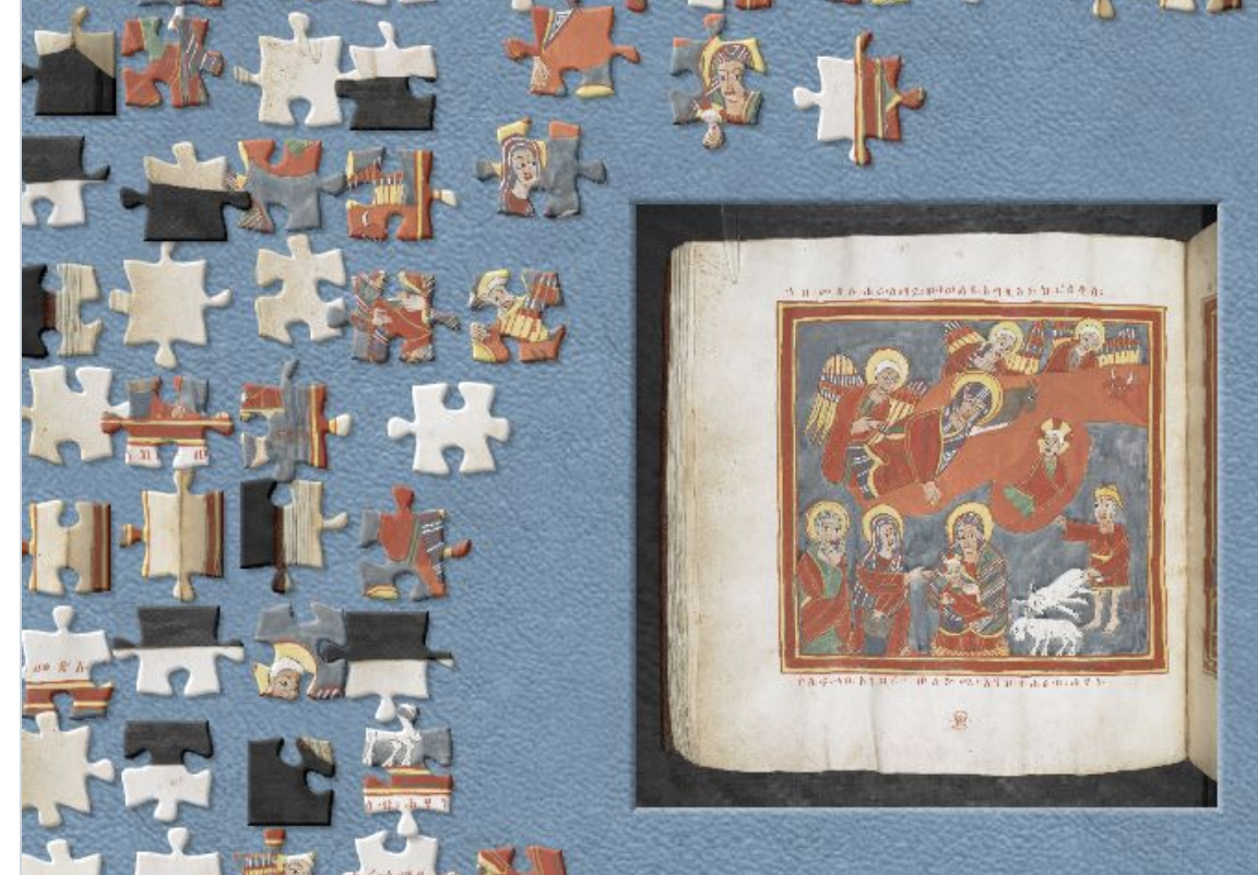 British Library Jigsaw challenge March 2020