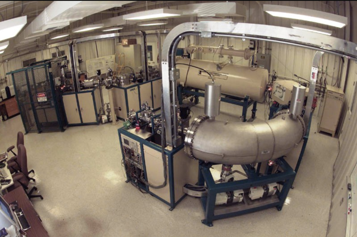 Accelerator mass spectrometer at Lawrence Livermore National Laboratory