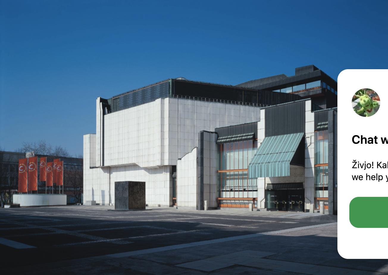 Cankarjev dom Conference Centre, Ljubljana